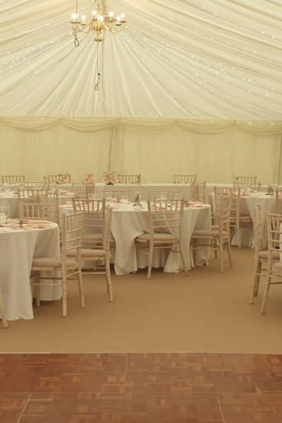 Furniture and Flooring at Eclipse Marquee Hire, Rushden